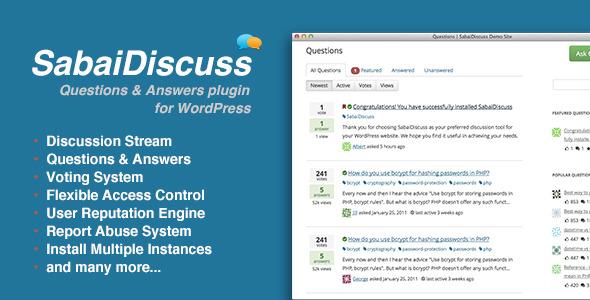 Photo of Get Sabai Discuss plugin for WordPress Download