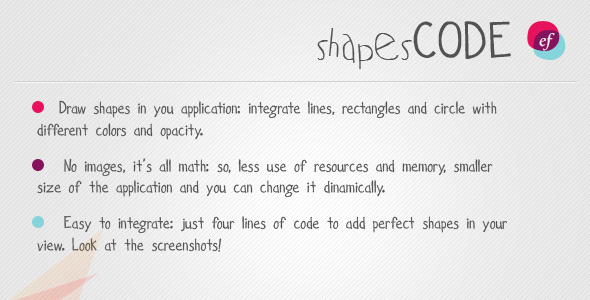 Photo of Get Shapes Code – resource for iPhone / iPad Download