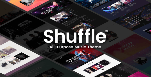 Photo of Get Shuffle – Music Theme Download