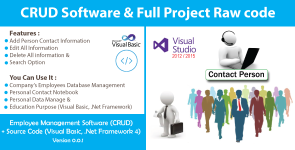 Photo of Get Simple Employee Management System (CRUD) With Source Code Download