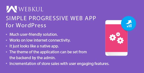 Simple Progressive Web App ( PWA ) for WordPress