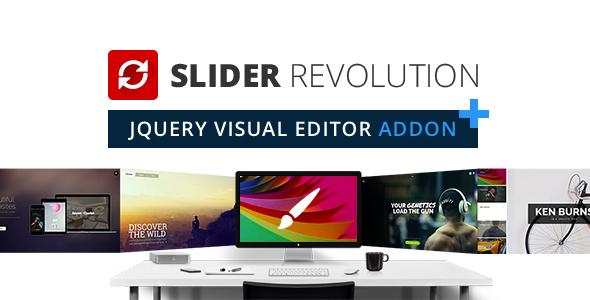 Photo of Get Slider Revolution jQuery Visual Editor Addon Download