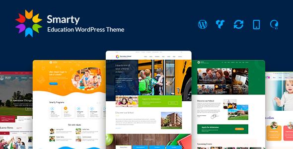 Photo of Get Smarty – School Kindergarten WordPress theme Download