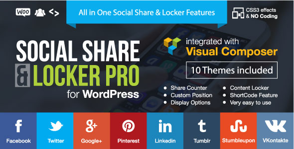Photo of Get Social Share & Locker Pro Wordpress Plugin Download