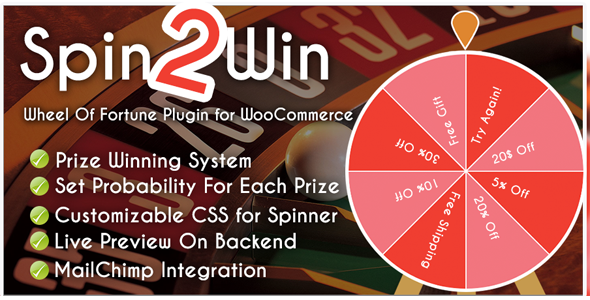 Photo of Get Spider Spin2Win WooCommerce Coupon Code Download