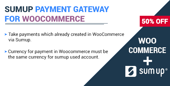Photo of Get SumUp Payment Gateway For WooCommerce Download