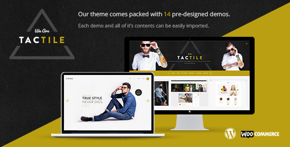 Photo of Get Tactile – Multipurpose Theme Download