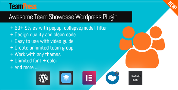 Photo of Get TeamPress – Team Showcase plugin Download