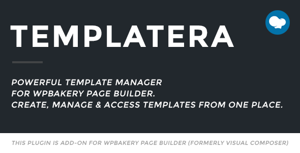 Photo of Get Templatera – Template Manager for WPBakery Page Builder Download