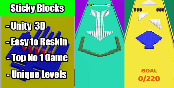 Photo of Get Top Trending Sticky Block Game Unity Source Code Download