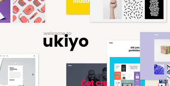 Photo of Get Ukiyo – Portfolio Theme Download