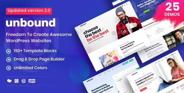 Photo of Get Unbound – Business Agency Multipurpose Theme Download