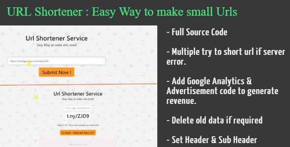 Photo of Get Url Shortener With Source Code | Asp Core Download