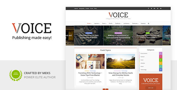 Photo of Get Voice – Clean News/Magazine WordPress Theme Download