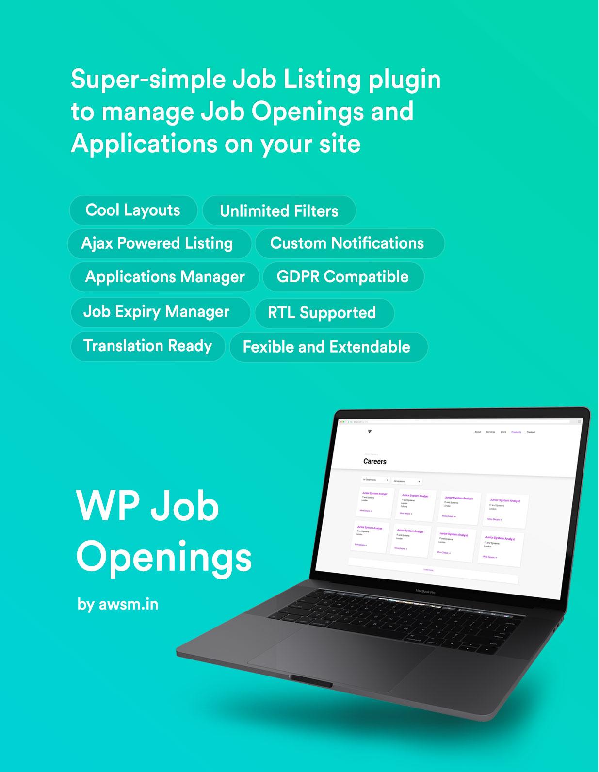 WP Job Openings PRO - 1