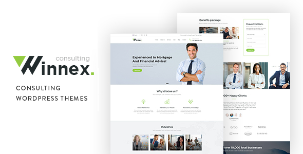 Photo of Get Winnex – Business Consulting WordPress Themes Download
