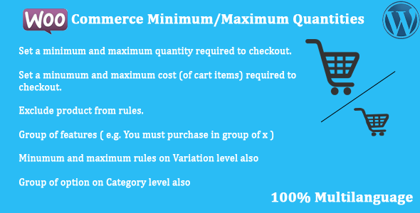 Photo of Get WooCommerce – Minimum/Maximum Quantities Download