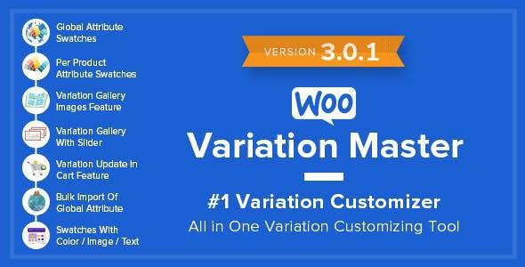 Photo of Get WooCommerce Variation Master Download