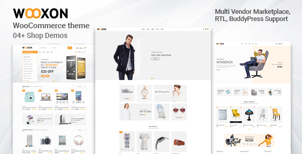Photo of Get Wooxon – WooCommerce WordPress Theme Download
