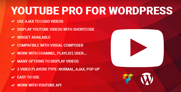 Photo of Get Youtube Pro for WordPress Download