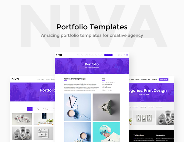 Niva - Creative Agency WordPress Theme - 3