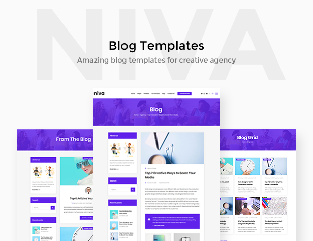 Niva - Creative Agency WordPress Theme - 4