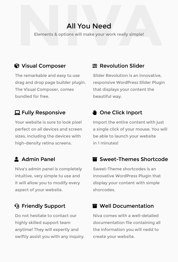 Niva - Creative Agency WordPress Theme - 5