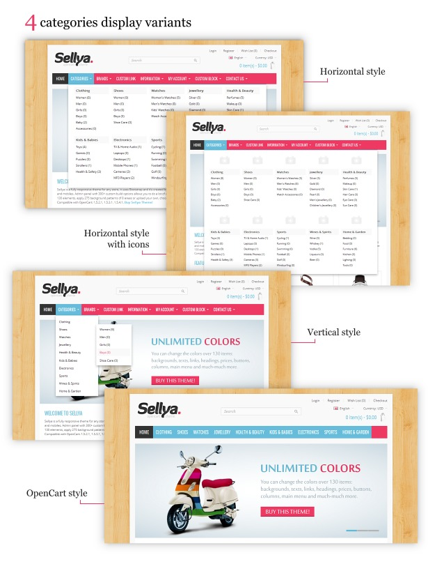Sellya - Multi-Purpose Responsive OpenCart Theme - 20