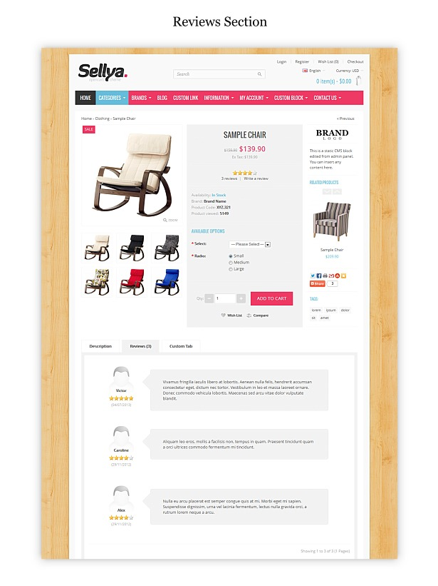 Sellya - Multi-Purpose Responsive OpenCart Theme - 29