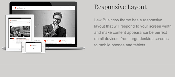 Responsive Attorney WordPress Theme