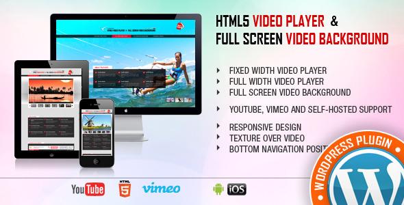 Image&Video FullScreen Background WordPress Plugin - 1