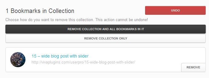 WordPress User Bookmarks for UserPro - 9