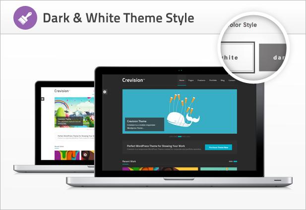Crevision - Responsive WordPress Theme - 6
