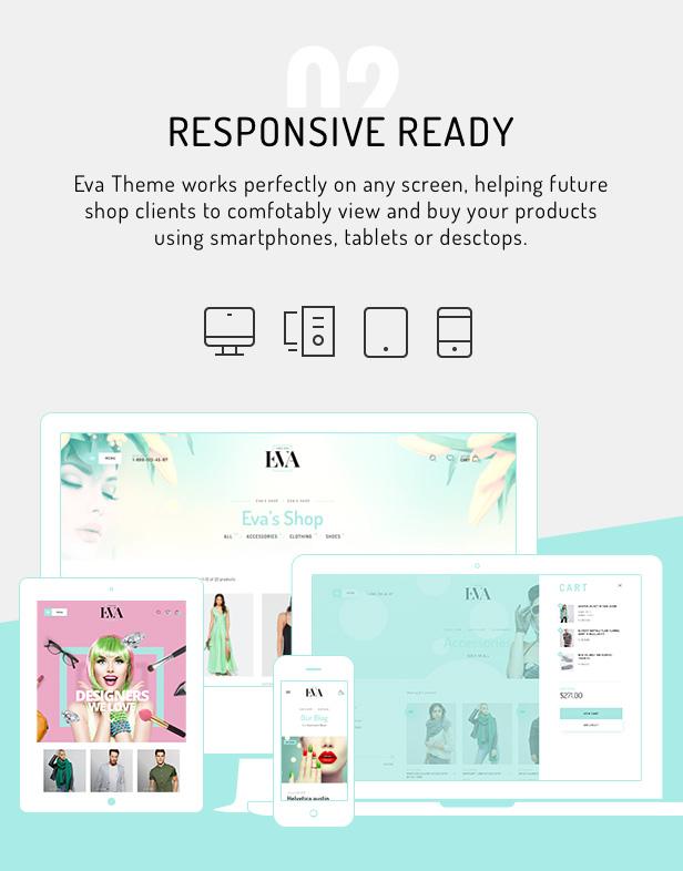 Eva - Fashion WooCommerce Theme - 5