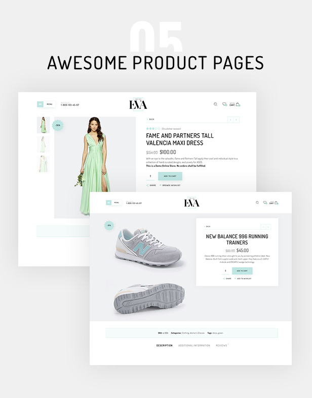 Eva - Fashion WooCommerce Theme - 9