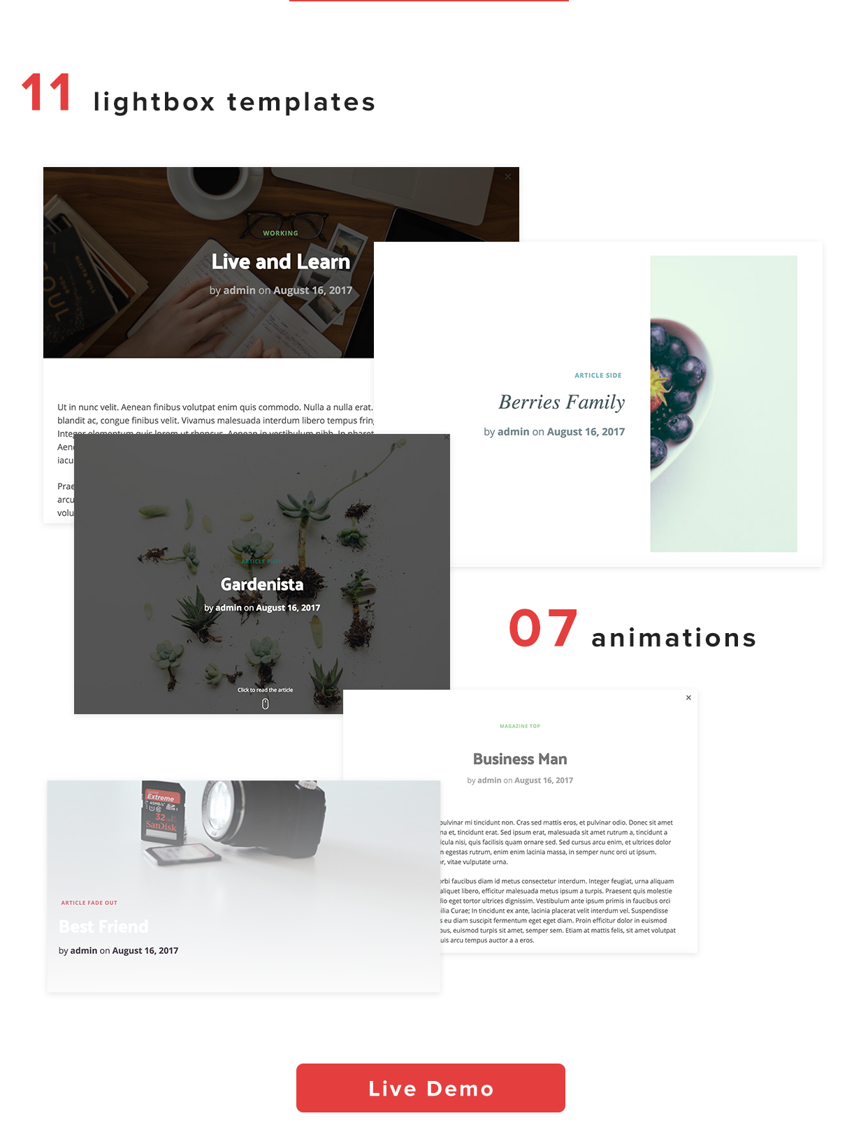 Quick View - Lightbox for WordPress post - 3
