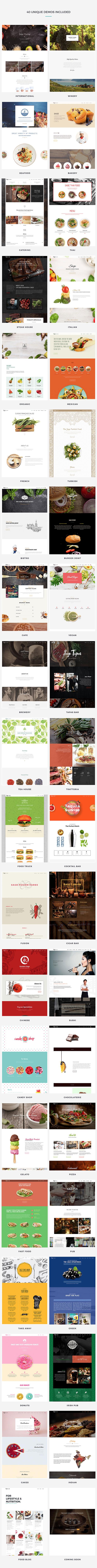 Restaurant WordPress Theme Demo