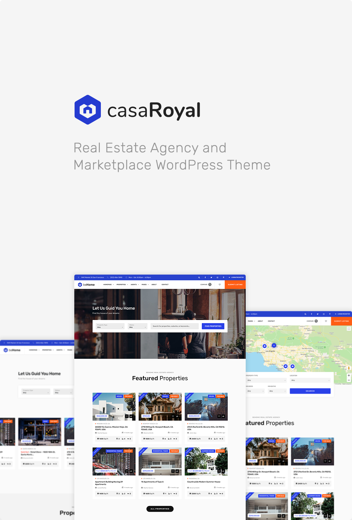 casaRoyal - Real Estate WordPress Theme - 3