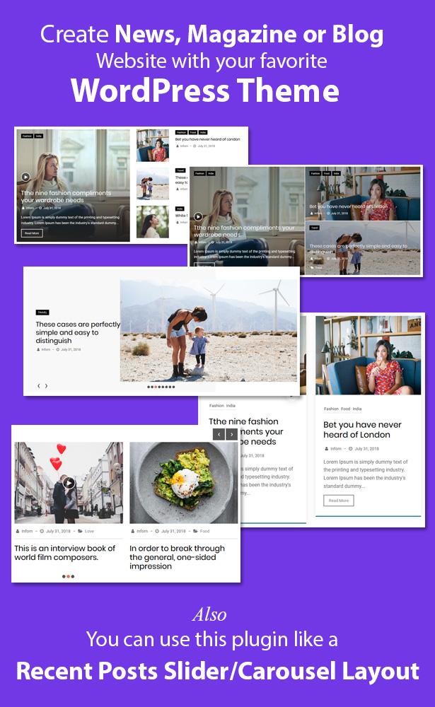 Blog Designer Pack Pro - News and Blog Plugin for WordPress - 6
