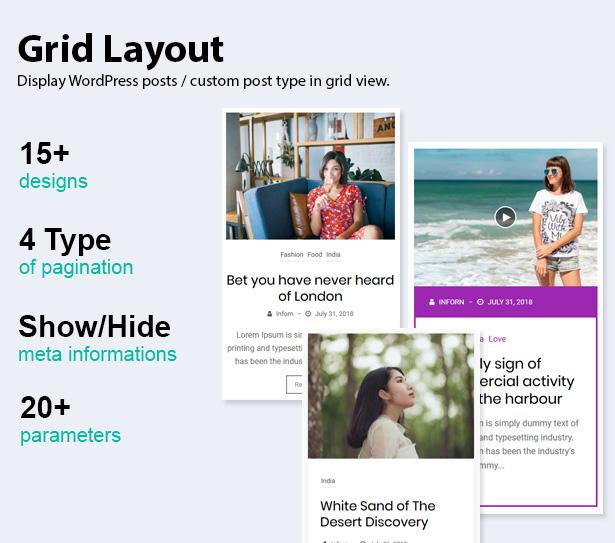 Blog Designer Pack Pro - News and Blog Plugin for WordPress - 7