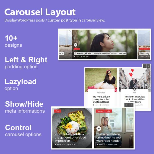 Blog Designer Pack Pro - News and Blog Plugin for WordPress - 8