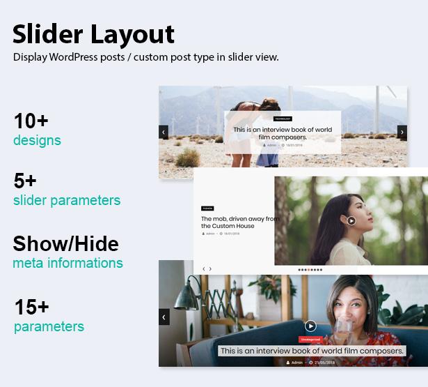 Blog Designer Pack Pro - News and Blog Plugin for WordPress - 9