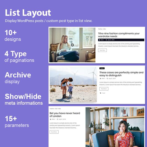 Blog Designer Pack Pro - News and Blog Plugin for WordPress - 10