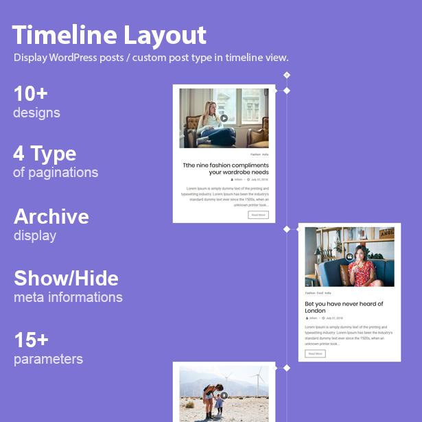 Blog Designer Pack Pro - News and Blog Plugin for WordPress - 12