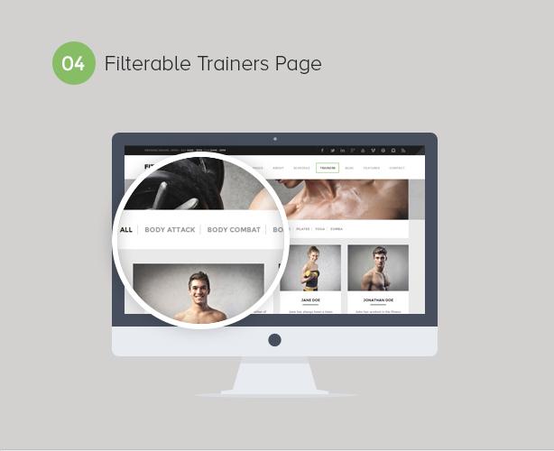 Gym WordPress Theme | Fitness - 5