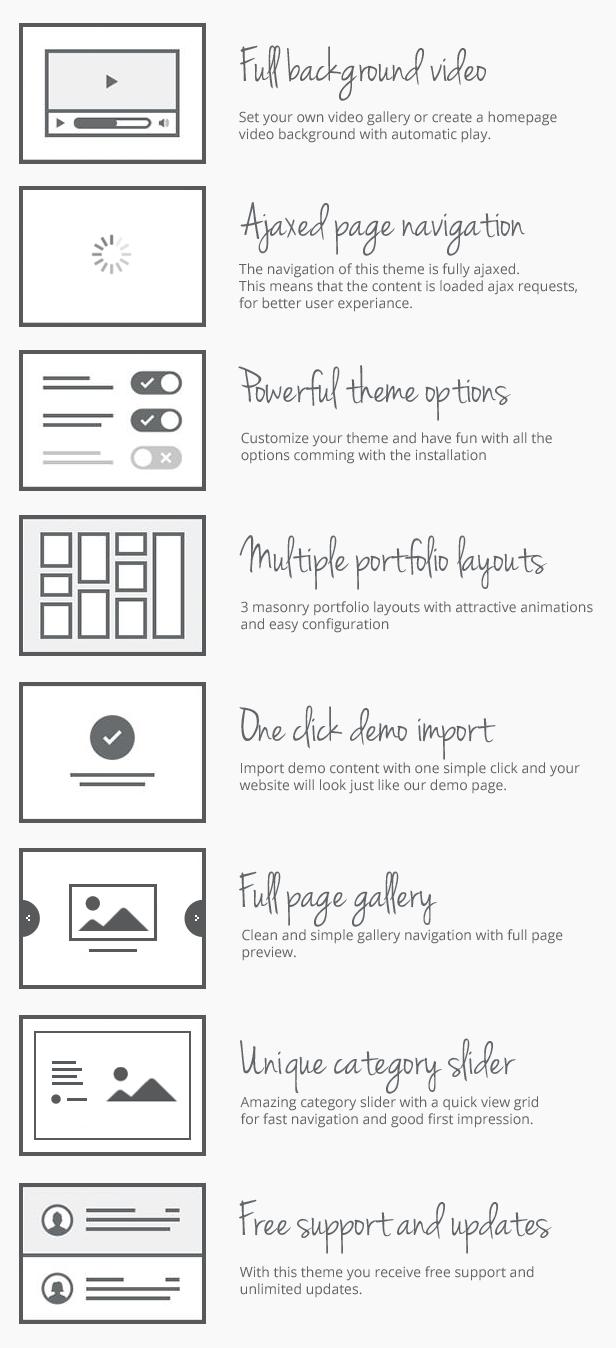 Trend - Photography WordPress Theme - 1