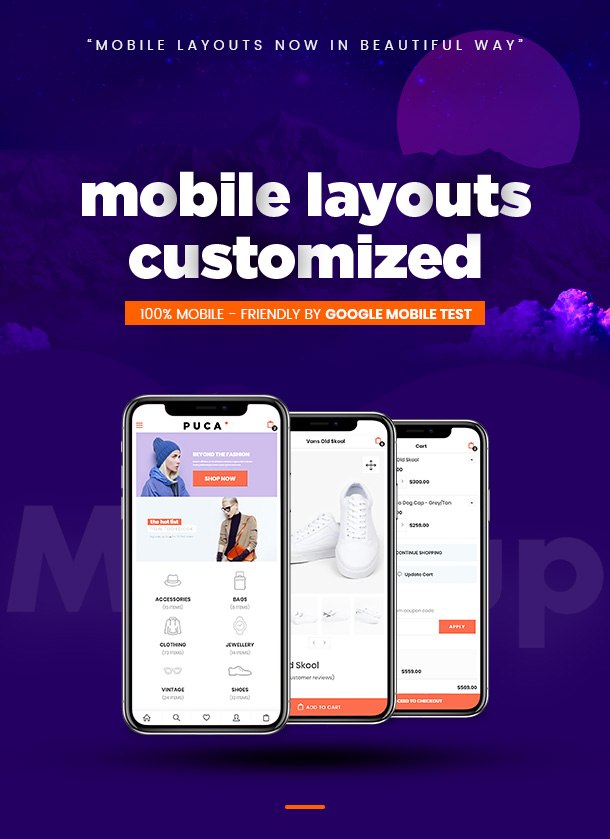 Puca - Optimized Mobile WooCommerce Theme - 10