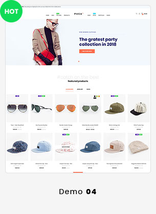 Puca - Optimized Mobile WooCommerce Theme - 16