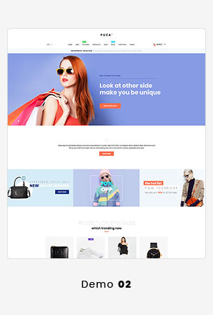 Puca - Optimized Mobile WooCommerce Theme - 14