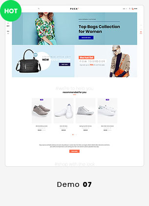 Puca - Optimized Mobile WooCommerce Theme - 19